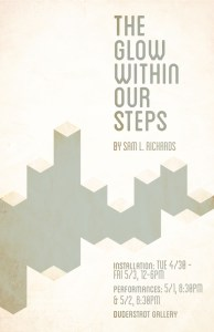 The Glow Within Our Steps - Poster