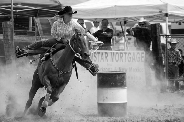 Flying Cowgirl - By Sam Meddis