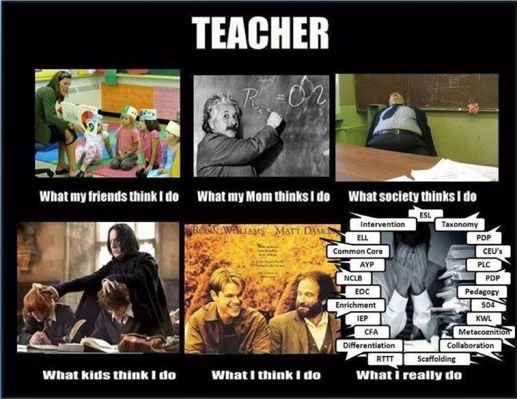 teacher what i do