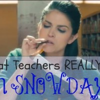 What Teachers REALLY Do on Snow Days (Hilarious Video)