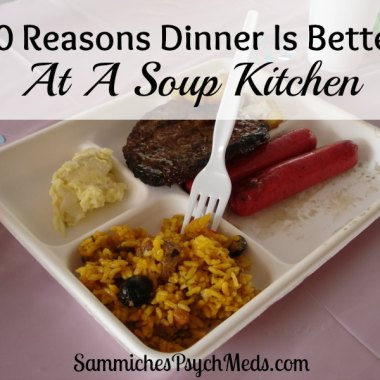 Such a beautiful and funny story. A mother and daughter have a convicting and inspiring mealtime experience and learn why dinner is better at a soup kitchen.