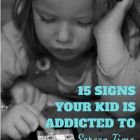 Is your kid addicted to screen time? If you can nod along to any of these, chances are good the answer is yes.
