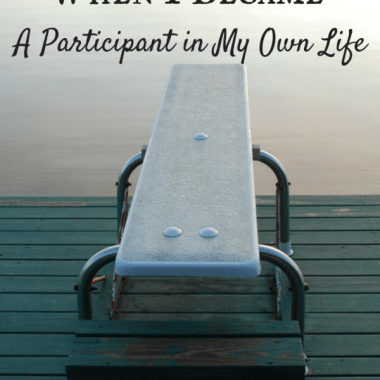 It's easy to avoid doing things because they might make you look silly or stupid, but when you do that, you fail to live. Here's what happened when I stopped this and became a participant in my own life.