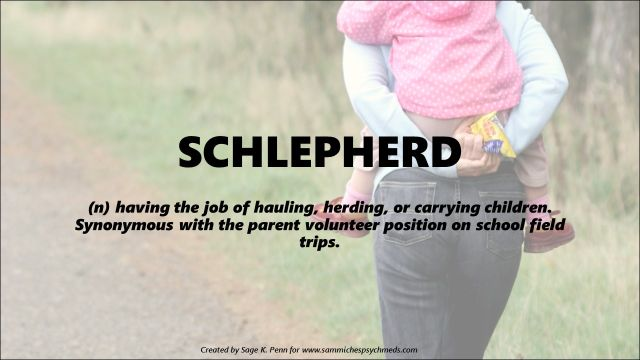 I hate being a schepherd. Especially because Jacob usually sharts on me when I carry him.