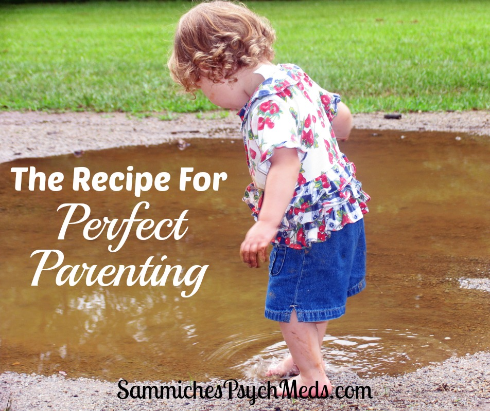 """This isn't your typical recipe, but it does give you nine """"ingredients"""" to help you become a better parent. Number 4 is pretty great."""