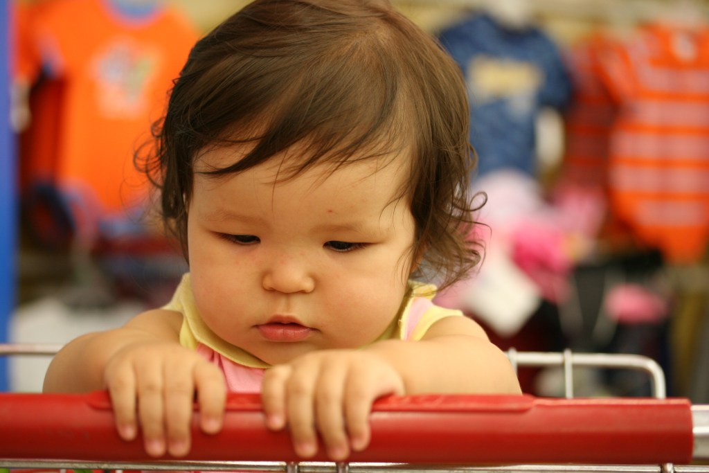 You Know You're a Mom at The Grocery Store When…