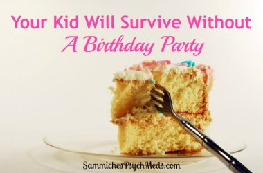 There's entirely too much pressure on parents these days to throw their children lavish birthday parties. This mom didn't and you know what? Her kid didn't care!