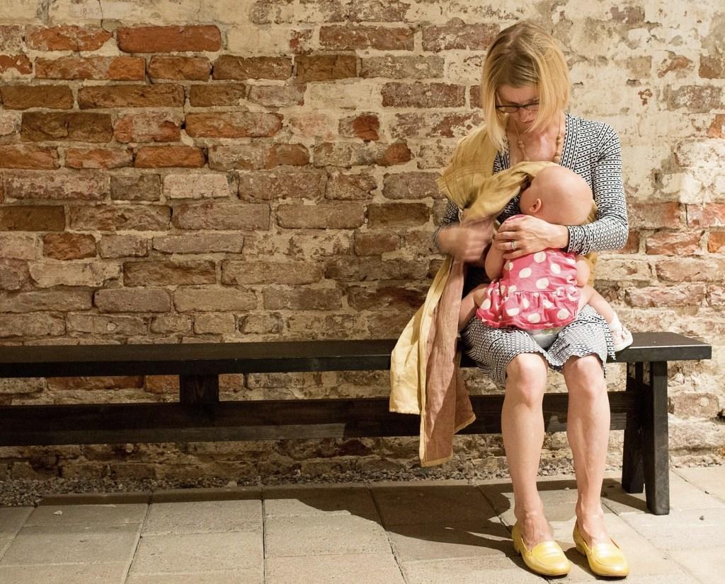 It never occurred to me that breastfeeding my infant in public was demonstrating a lack of respect for my feminine mystique.