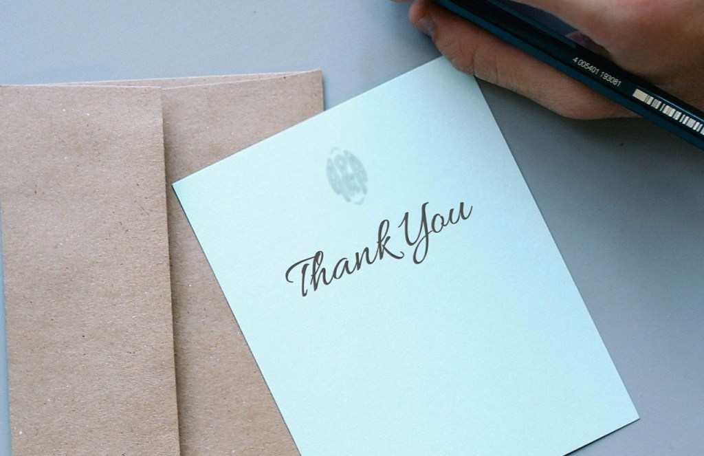 Friendship Ends When Woman Fails to Send Thank-You Card for Thank-You Card
