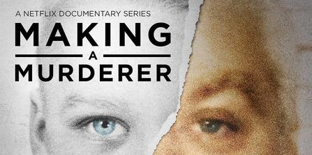 """Photo Credit: """"Making A Murderer Title"""" by Source (WP:NFCC#4). Licensed under Fair use via Wikipedia"""