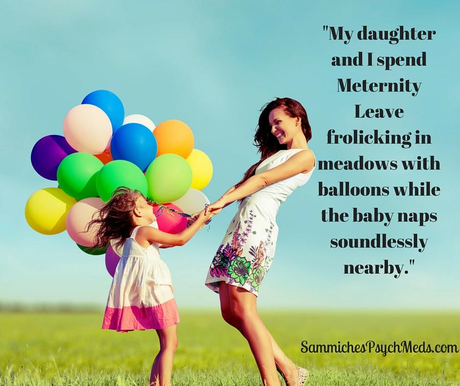 How Moms Spend Meternity Leave