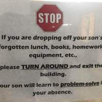 School Policy Tells Parents Kids Must 'Problem Solve' On Their Own