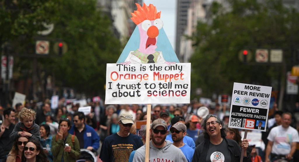 Behold, The Smartest And Snarkiest Moments From The 2017 March For Science
