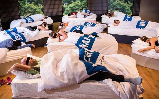 Sleep-Deprived Parents Can Now Take Napping Fitness Classes