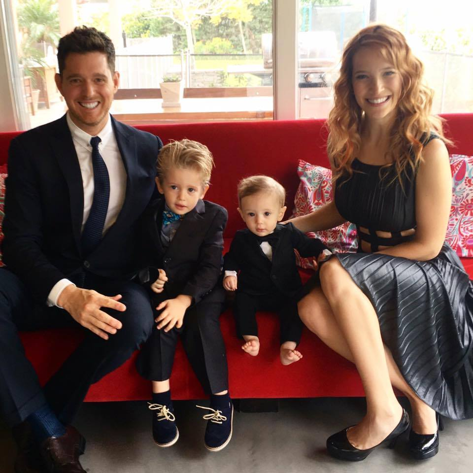 Good News! Michael Buble's Wife, Luisana Lopilato, Reveals Son Is Cancer-Free