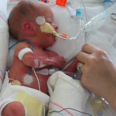 The day I had to walk out of the hospital without my daughter in my arms and leave her in the NICU was the scariest and most heartbreaking day of my life.