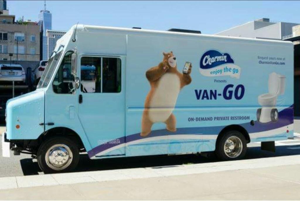 Charmin Made a Public Poop-Mobile and We Have So Many Thoughts