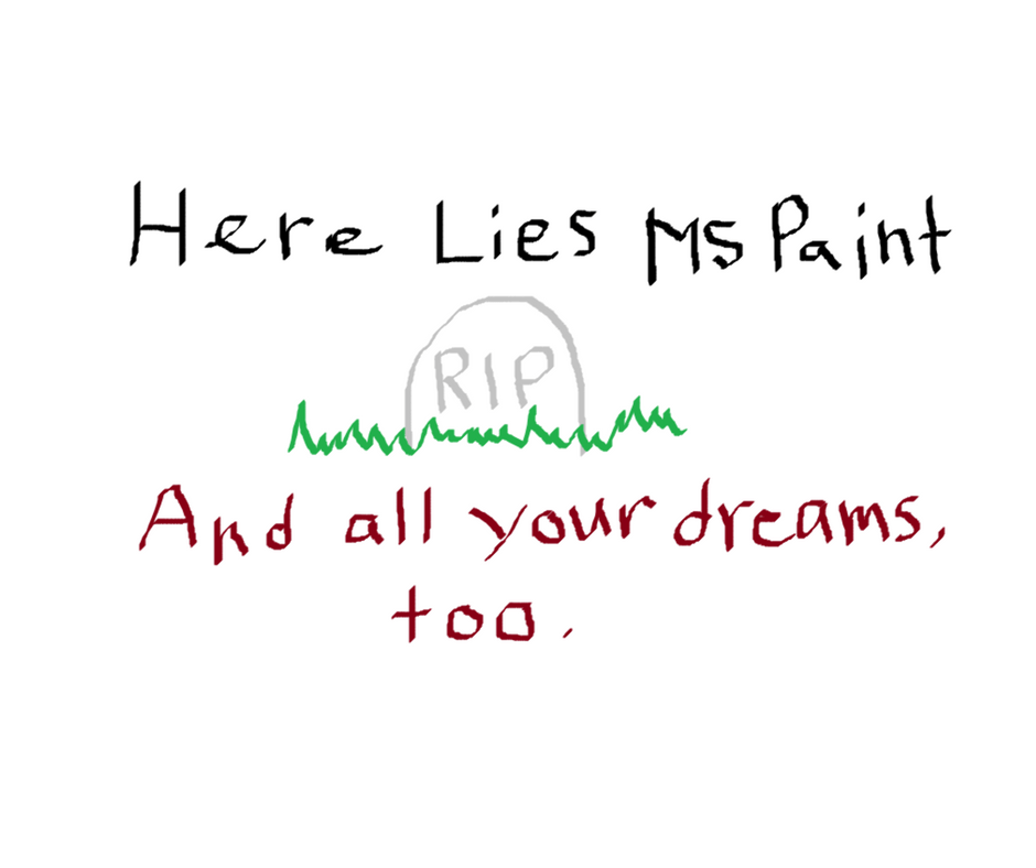 Microsoft Is Discontinuing Paint and Now How Am I Supposed to Crop My Laptop Screenshots?