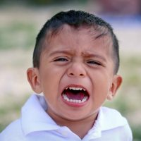 Hey lady, if my kid is crying because he isn't getting his way and I proceed to NOT give him his way, I'm not abusing him. I'm parenting.