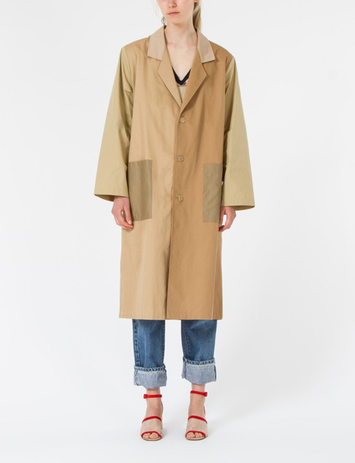 Expensive potato sack jacket (Sacket?)