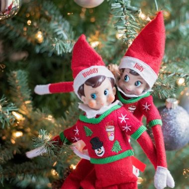 Parents, don't blame yourself if your stupid elf didn't move last night. I mean, it's probably your kids' fault right?