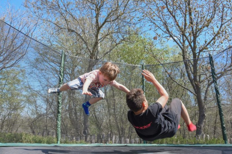 """This summer, having two boys ages 7 and 5, """"No"""" has become the commonly used word that comes out of my mouth. NO you cannot drive to Grandma's or use the hose on the trampoline."""