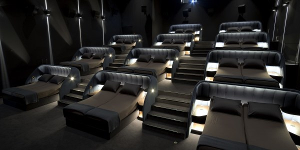Swiss Movie Theatre Replaces Seats With Double Beds