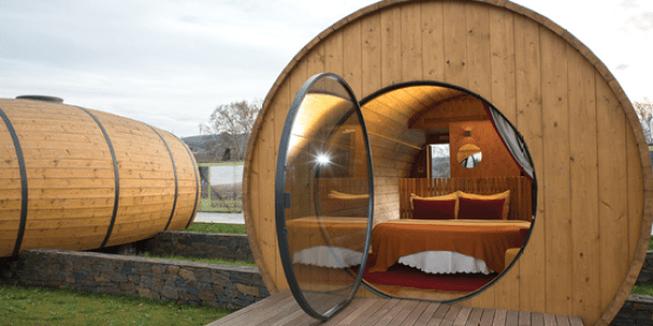 Wine Lovers Rejoice: There's A Giant Wine Barrel Hotel Just For You