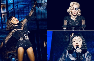 The Queen of Pop gets schooled on punctuality by fans in New York who got tired of waiting.