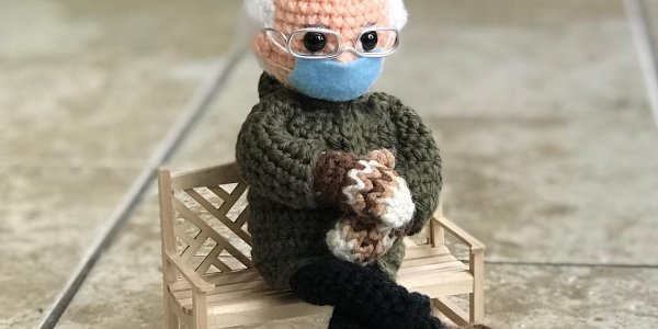 You Can Now Make Your Own Bernie with Mittens and Support Charity
