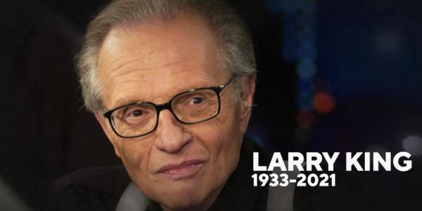 Larry King, Long-Time TV Personality, Dies at Age 87