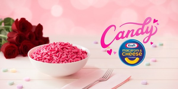 You Can Get Pink, Candy-Flavored Mac 'N' Cheese For Valentine's Day