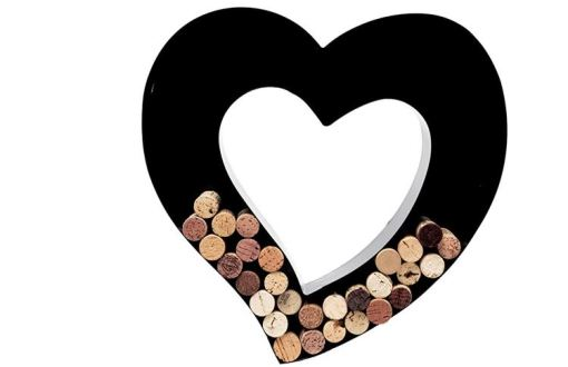 wine cork holder valentine's day gift guide by Sammiches and Psych Meds