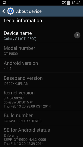 roll-out samsung galaxy s4 android 4.4.2