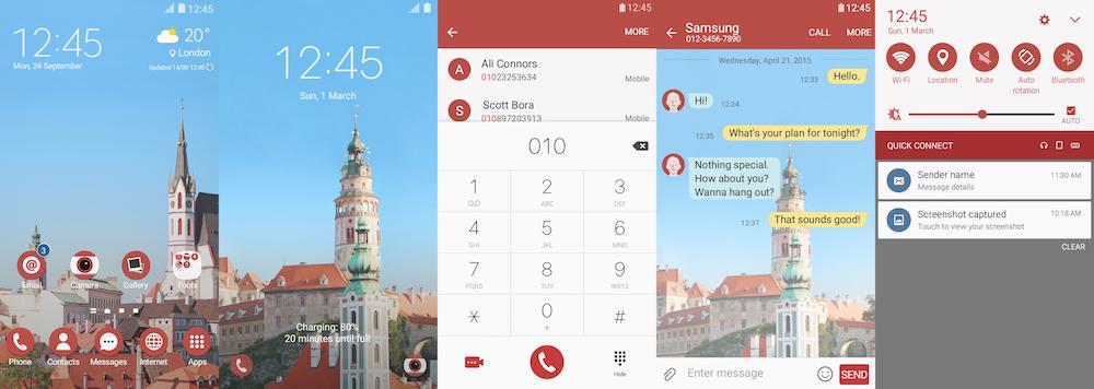 Samsung Galaxy Theme - Along The Romance, Cesky Krumlov