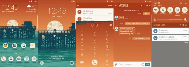 Samsung Galaxy Theme - Ocean View