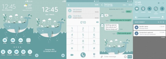Samsung Galaxy Theme - Travel In Iceland - HNINE Design