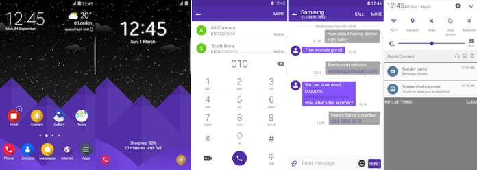 Samsung Galaxy Theme - Bora UI (White)
