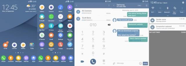 Samsung Galaxy Theme - [HIO] Coral Blue