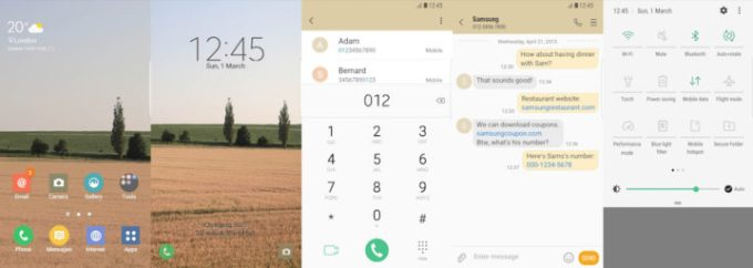 Samsung Galaxy Theme - Field - Free