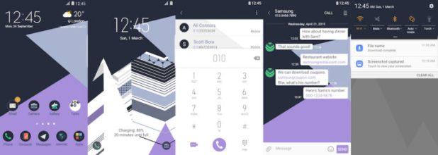 Samsung Galaxy Theme - Mountain - THENEW - Paid