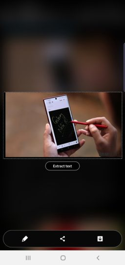 how to take screenshot on the Galaxy Note 10