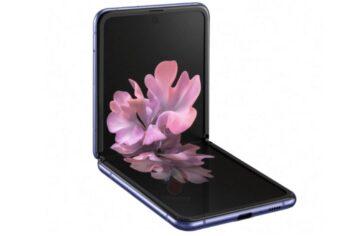 Samsung Galaxy Z Flip render 2