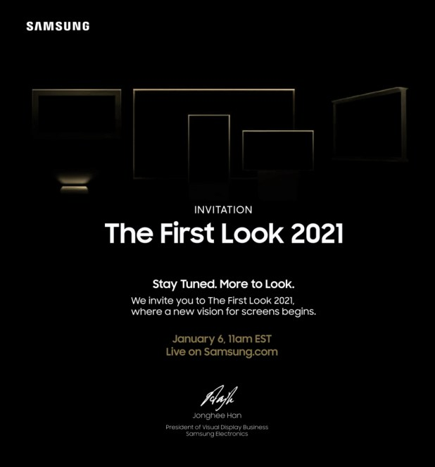 Samsung The First Look 2021 Event