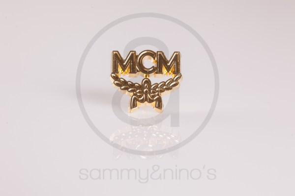 MCM brooch pin gold Vintage Sunglasses Accessories – Sammy Ninos-1420