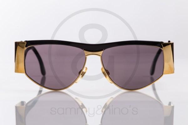 vintage BrillArte 1013 sunglasses frames black gold sammyninos 2