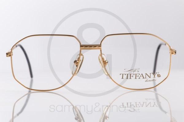 vintage Tiffany T129 sunglasses goldplated sammyninos eyewear frames 2