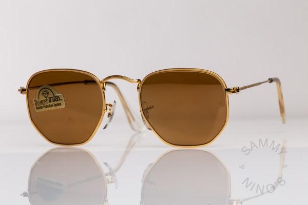 vintage-ray-ban-sunglasses-w1910-classic-collection-1-b&l-usa-diamond-gold-mirror-3