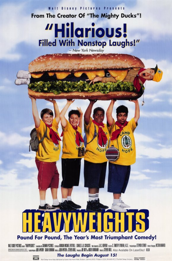 heavyweights movie shirt
