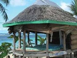 Tan Beach Fales